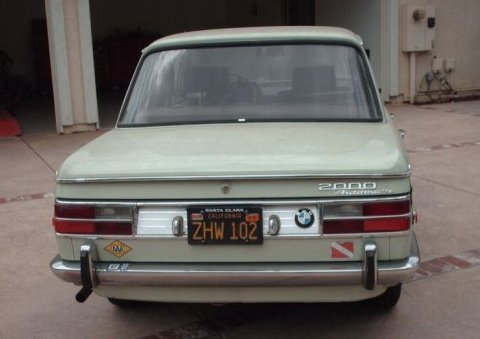 Moped 1969 on Name  1969 Bmw 2000 Sedan Rear 1 Jpgviews  286size  26 8 Kb