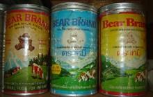 ขอโชว์เฉพาะนม(ตราหมี)ครับ