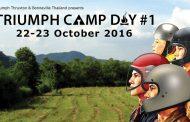 TRIUMPH CAMP DAY #1
