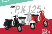 New Vespa PX 125