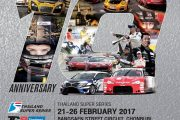 Thailand Super Series on February 21-26, 2017