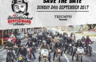 Distinguished Gentleman's ride at Triumph Praram5