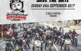 Distinguished Gentleman's ride at Triumph Praram5