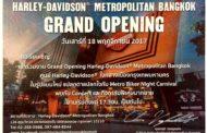 The Grand Opening of Harley-Davidson® Metropolitan Bangkok