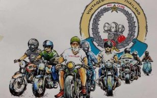 12th Vintage Bike Thailand