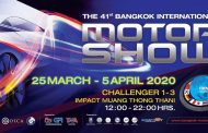 41st Bangkok International Motor Show 2020
